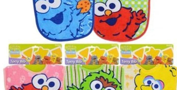 Sesame Street Bibs