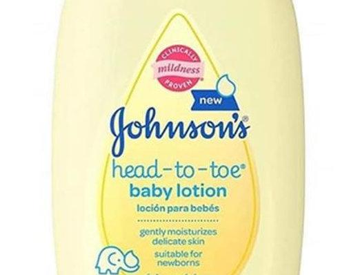 Johnson's Head to Toe Baby Lotion (KBW)