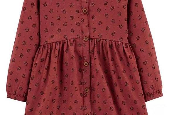 Vintage Clover Carter's Dress (KBW)