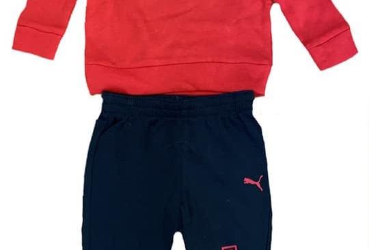 Red Puma Sweat Suit
