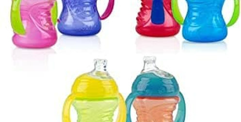 8oz Nuby No-Spill Super Spout Grip and Sip Bottle