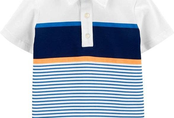 Carter's Strip Me Collar Shirt (KBW)