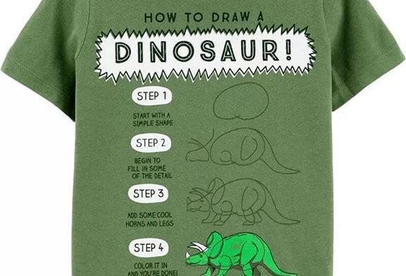Dino Man T-Shirt (Kbw)