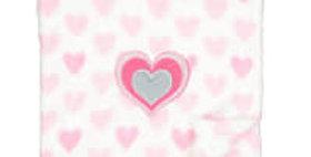 Full of Love Baby Plush Blanket