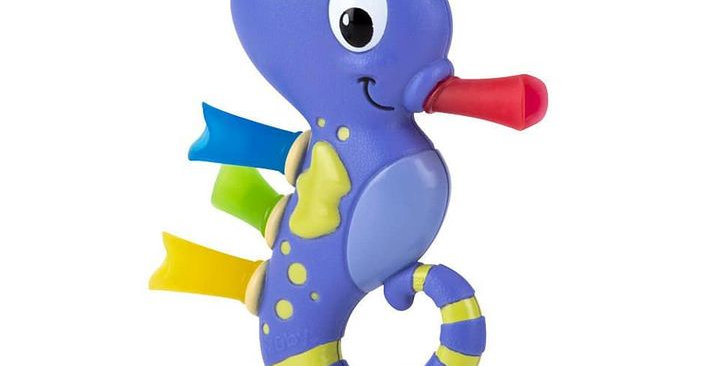 Under The Sea Seahorse Teething Toy