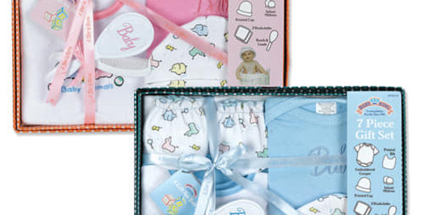 7 Piece Baby Gift Set