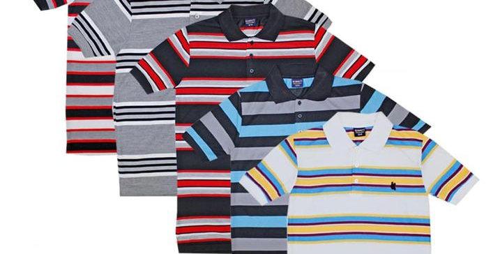 Stripped Polo Shirts