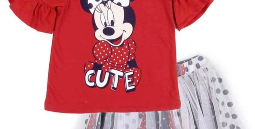 Minnie Disney Tutu Set (kbw)