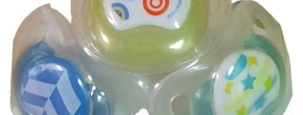 Pack of 3 Pacifier Set