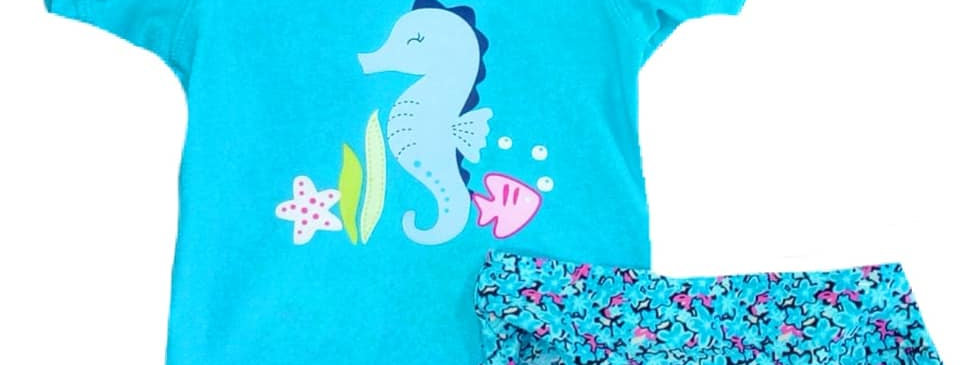 Seahorse Swimsuit (kbw)