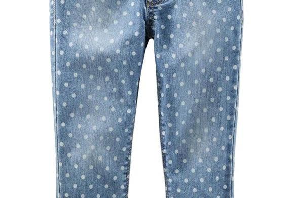 Polka Dot Jeans Pants (KBW)
