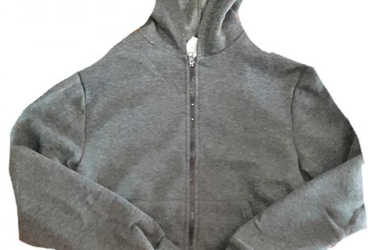Grey Hooded Jacket (kbw)