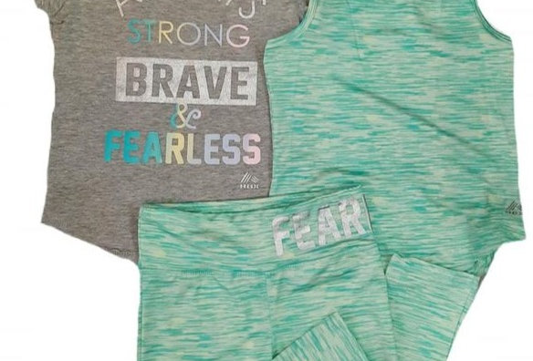 Always Strong, Brave, & Fearless (kbw)