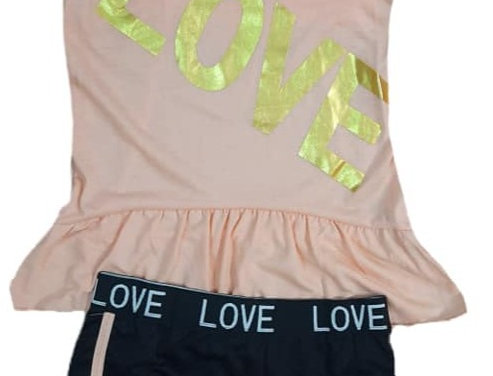 Peach Love with Love (kbw)