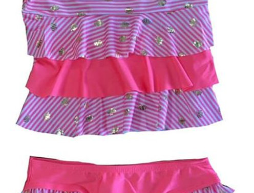 Shelly 2 Piece Bathing Suit
