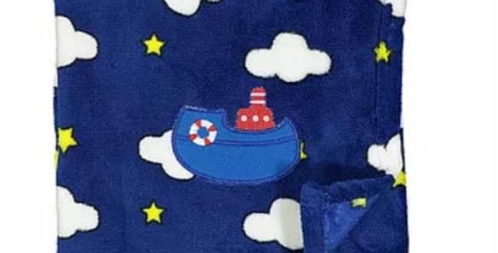 Night Sky Sail Plush Blanket