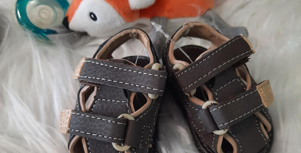 Brown Town Infant Shoes