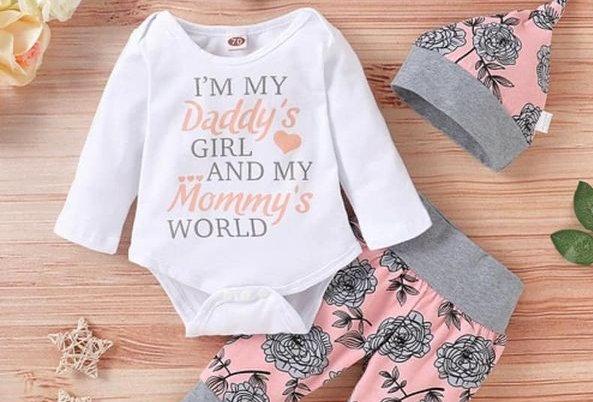 Daddy's Girl Mommy's World (kbw)
