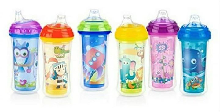 9oz Nuby Insulated Soft Flex Spout Sipper