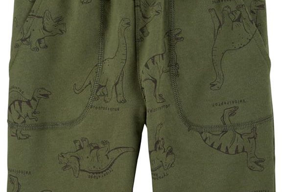 Carter's Dino Shorts (KBW)