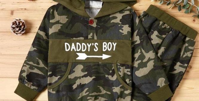 Daddy's Boy Warm Up Set (kbw)