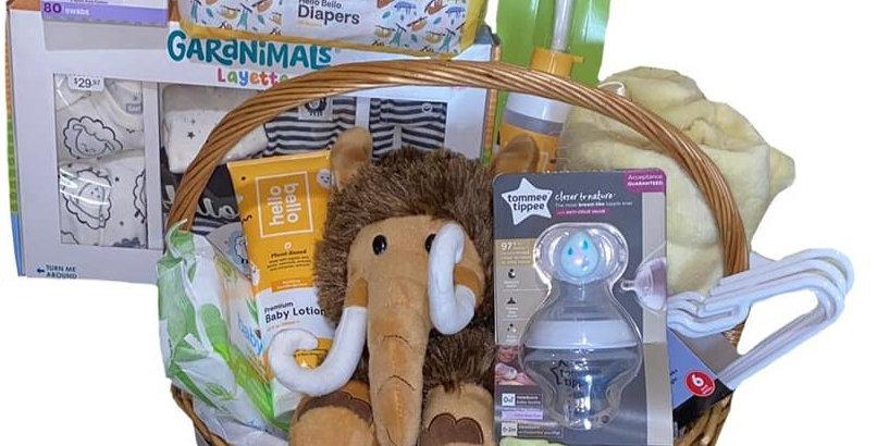 Unisex Organic Gift Basket