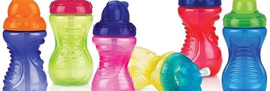 10oz Nuby Flex Straw No-Spill Cup