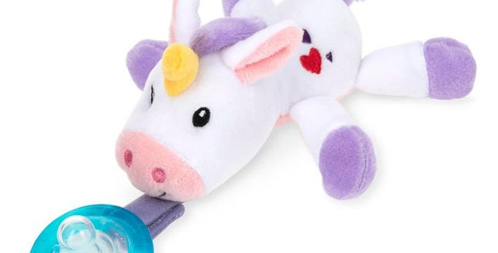 Unicorn Pacifier Comfort Set