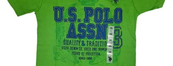 Green Polo Assn. T-Shirt (kbw)