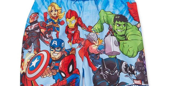 Super Marvel Swim Trunks