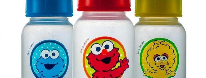 Sesame Street 4oz Baby Bottles
