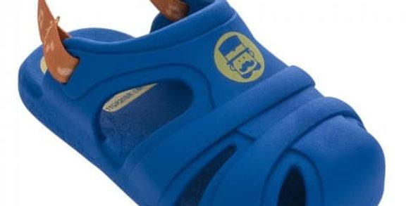 Toddler's Blue Crocs