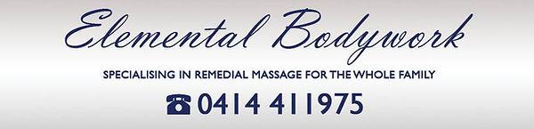 Remedial massage for the Family | Elemental Bodywork