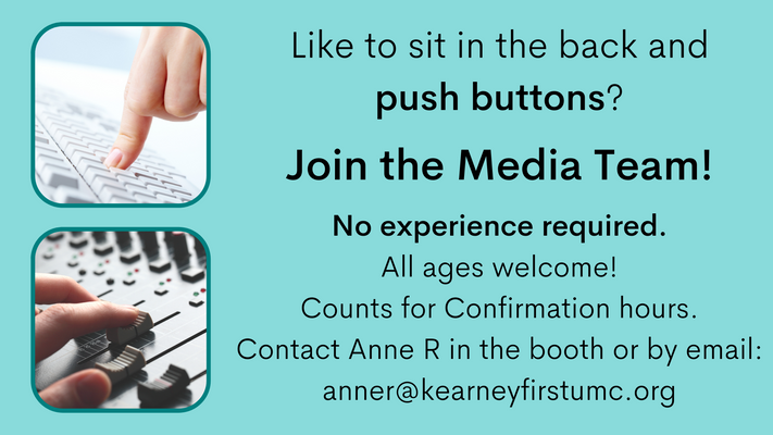 Join the Media Team!