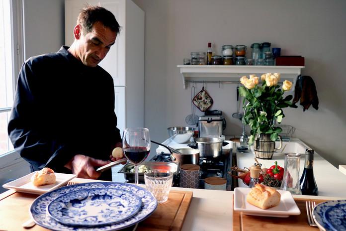 Olivier en cuisine