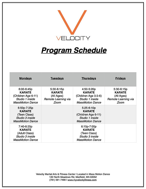 Velocity Schedule, Medfield.jpg