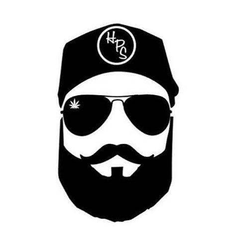 Beard Decal