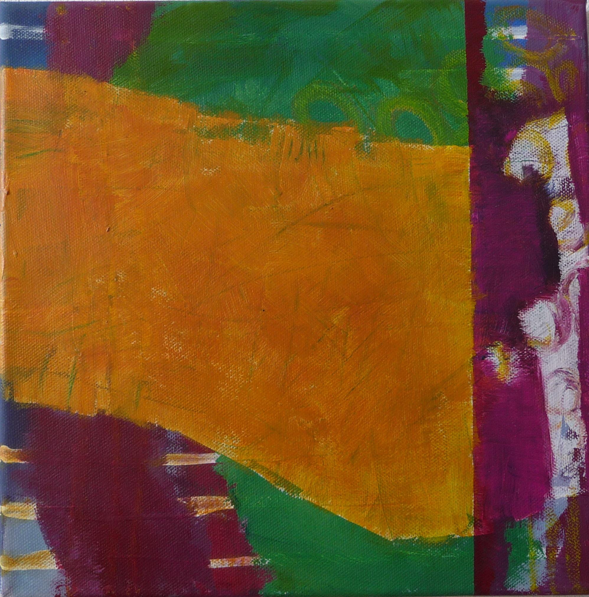 Grün 2, 2010, Leinwand, 30x30