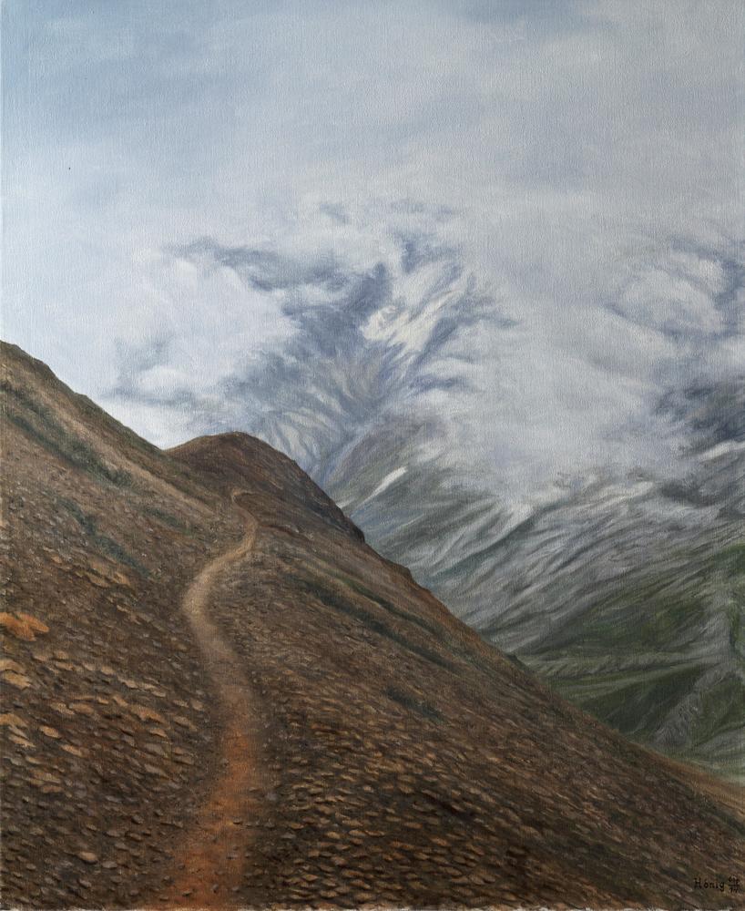 Berglicht_III_50x40cm_2014_Hoenig