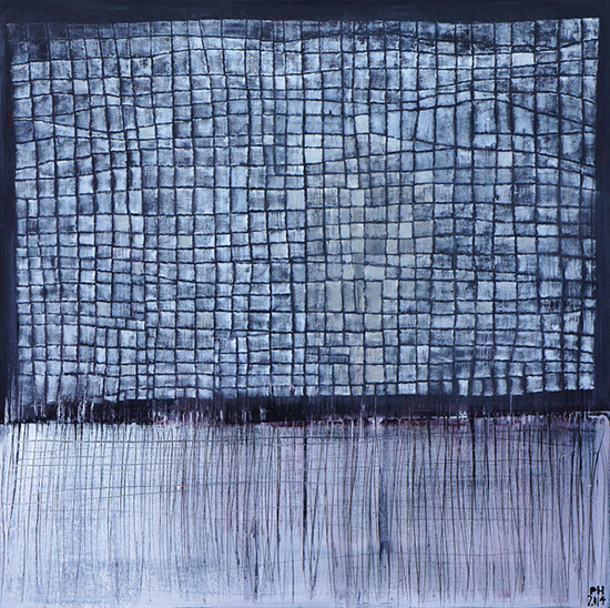 Petra Hedwig No.52 Acryl auf Leinwand 100x100cm