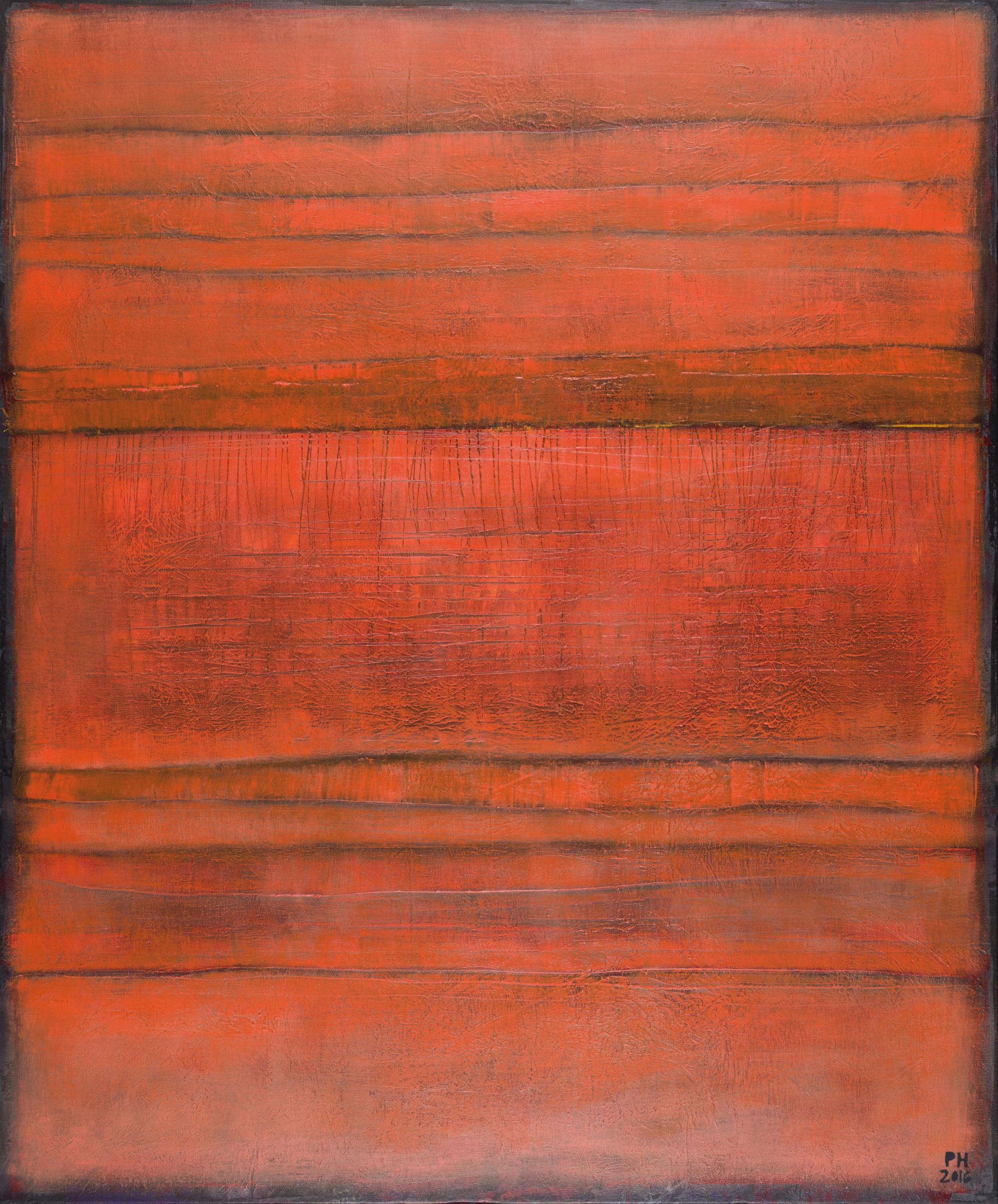 PetraHedwig ohne Titel No. 80 100x120 cm Acryl auf Leinwand