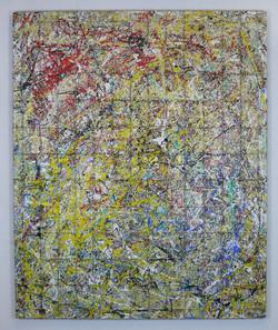 under conctruction rot gelb blau 170  x 140 cm