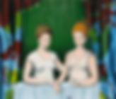 357. Die Spielerinnen, 40x40, 2010-18.JP