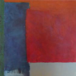 Farbfeld. Nr.10, 2011, 80x80, Leinwand
