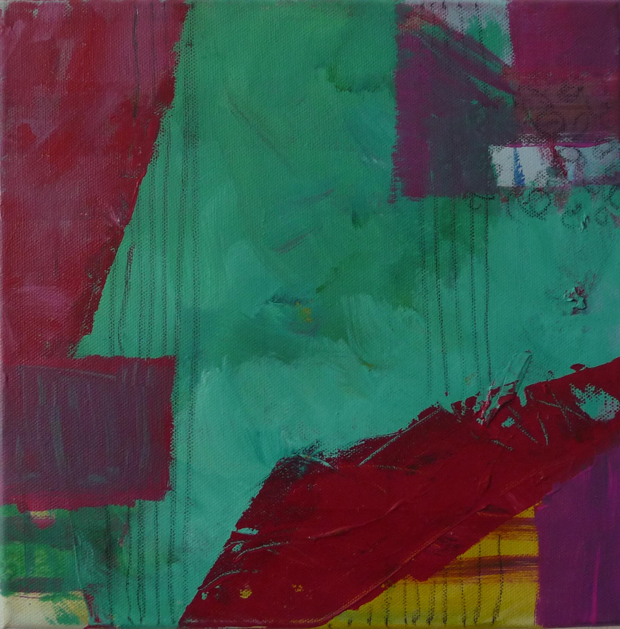 Grün 1, 2010, Leinwand, 30x30