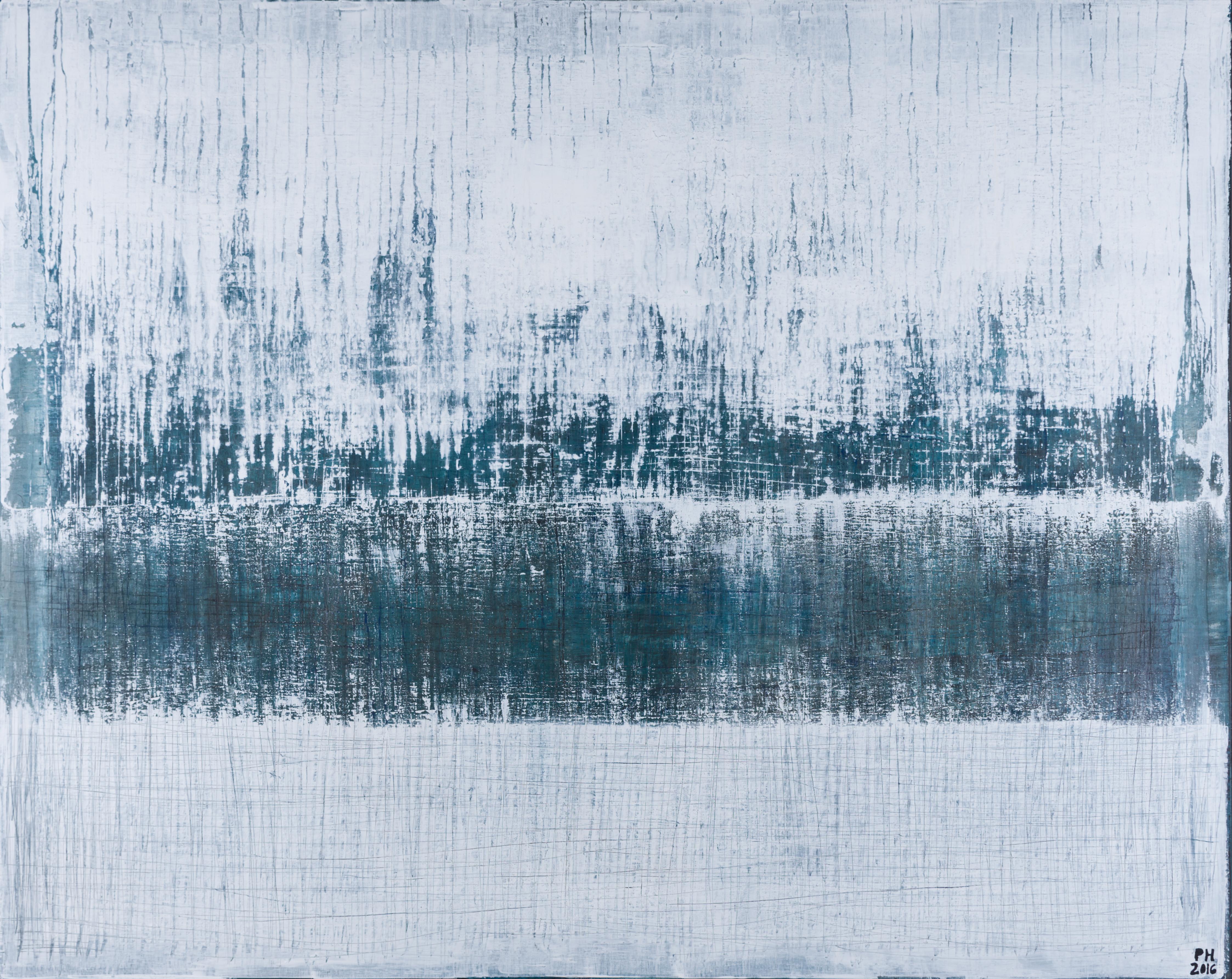 Petra Hedwig ohne Titel No. 78 150x120 cm Acryl auf Leinwand