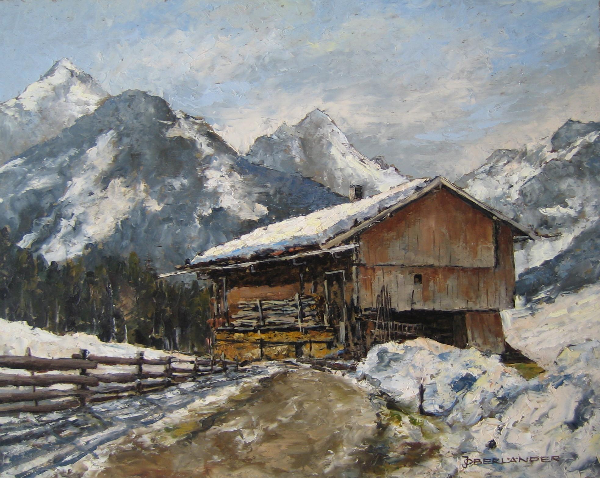 Alpbach__40X50__Öl