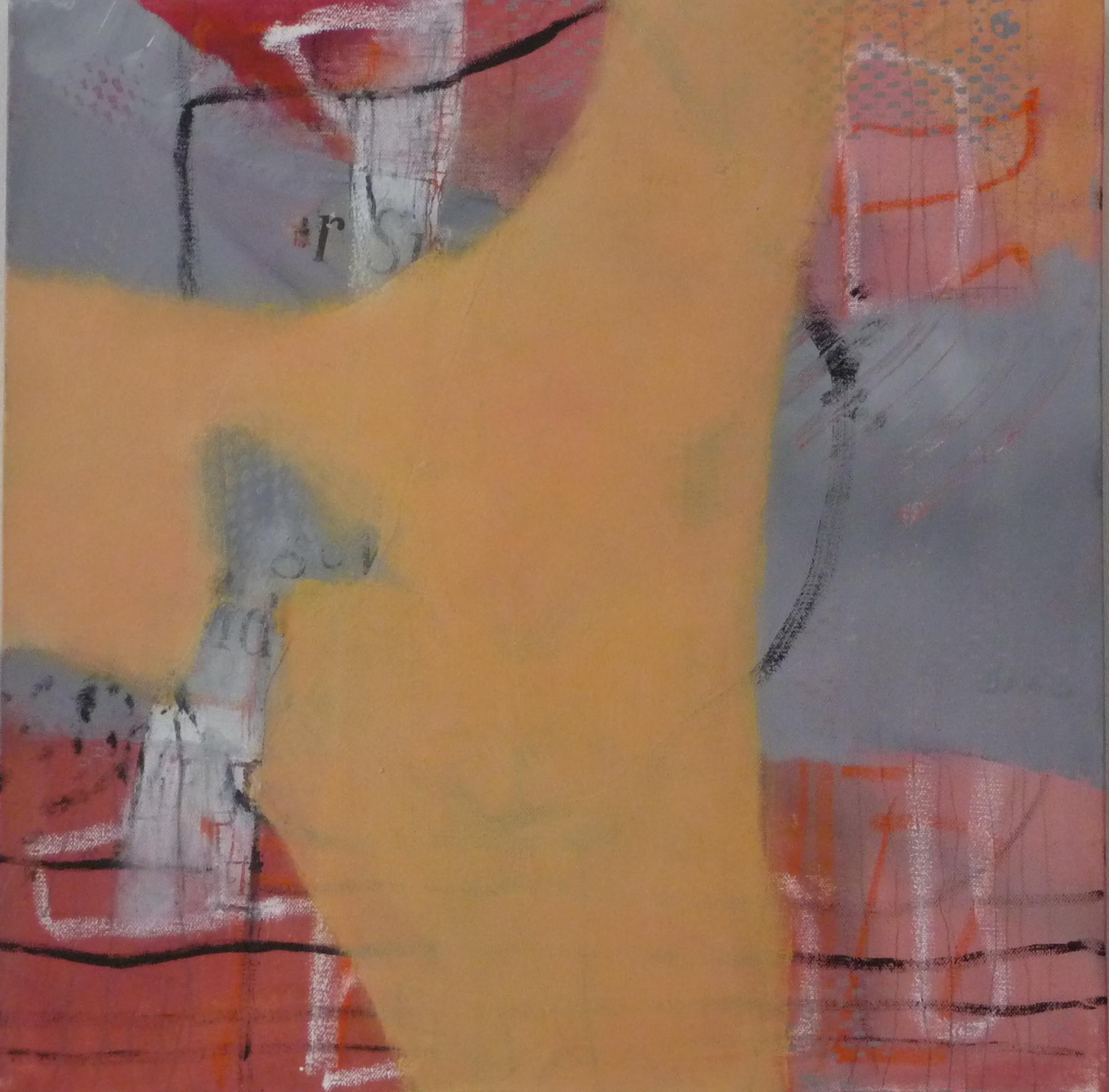 Zeichen 2, 2010, Leinwand, 50x50