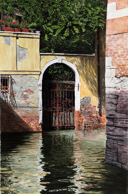 Venedig_Garten_Aquarell_2014_65x43cm_Hoenig