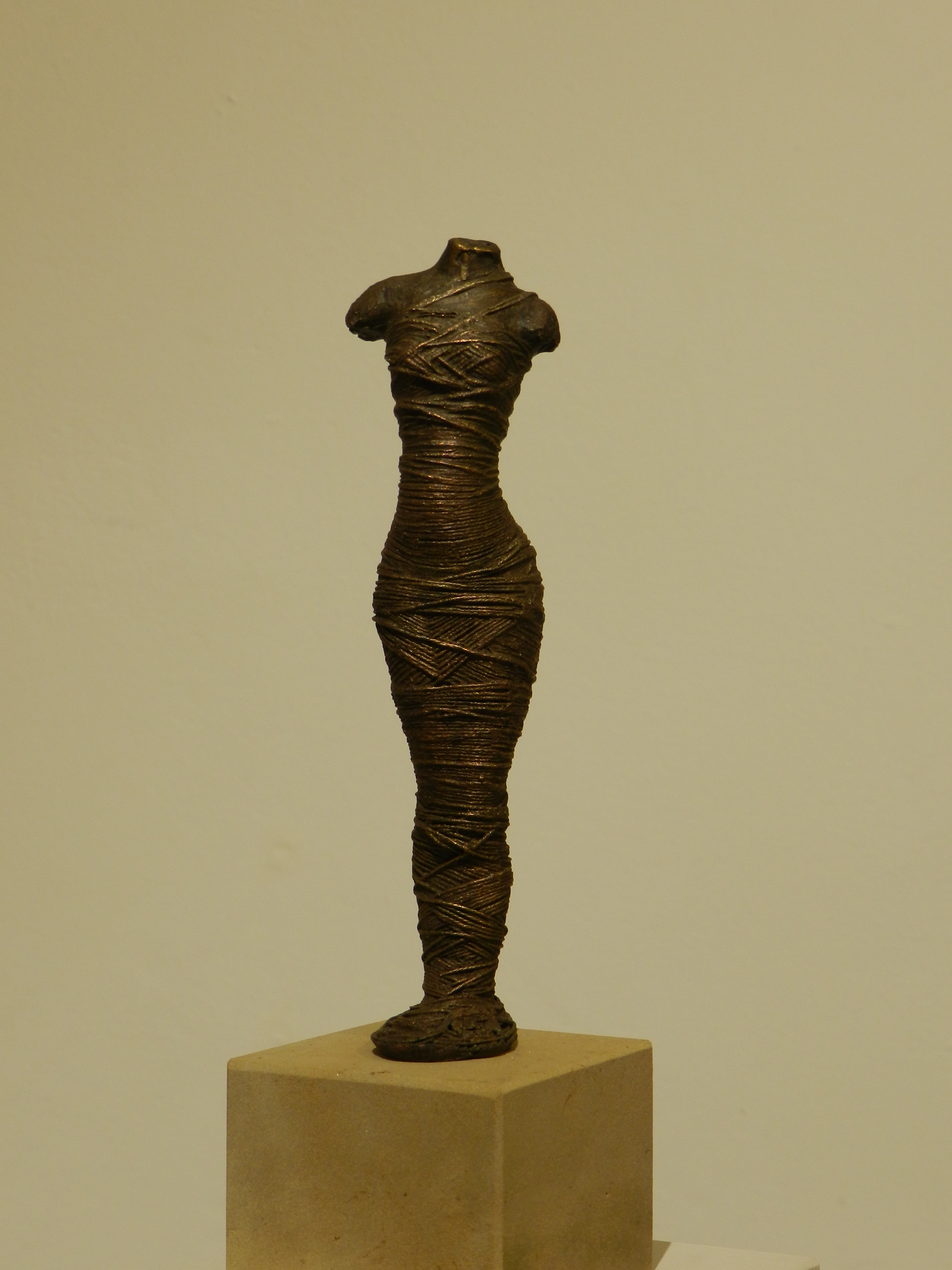 1 Andrea Kreipe  In Stille  Bronze  18x5